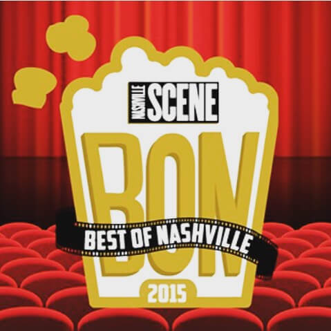 2015 2nd place - Nashville Scene Best of Nashville 2015