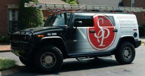 Sharpton Painting Hummer
